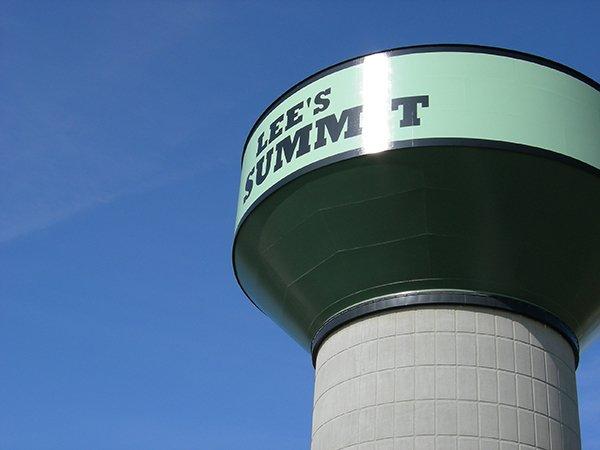 Lee's Summit water tower